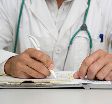 How to stand in a doctor's shoes to translate?