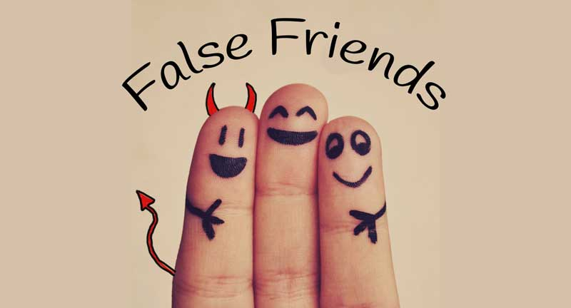 the most frequent and dangerous false friends in medical