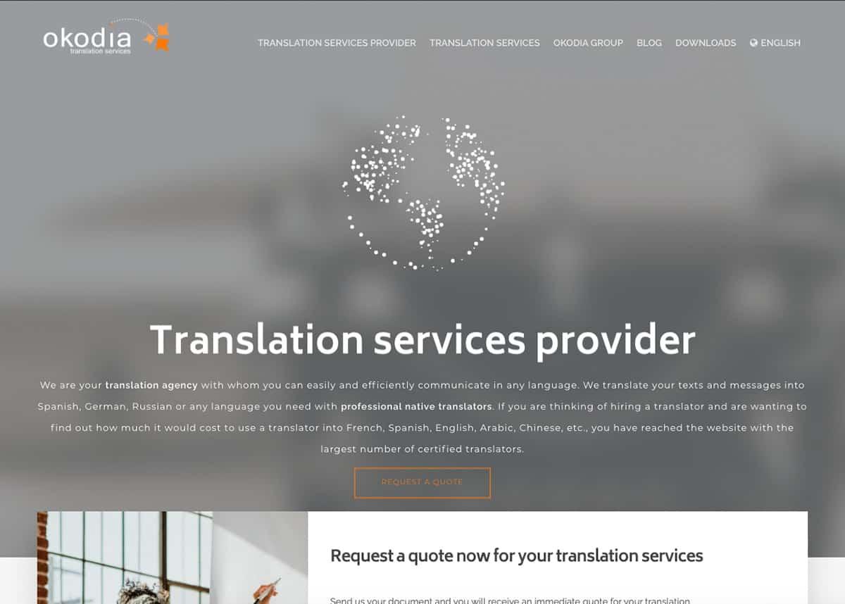 Okodia, agencia de traducción
